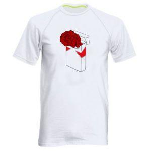 Męska koszulka sportowa Marlboro