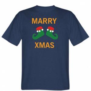 T-shirt Marry xmas