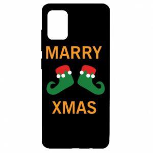 Etui na Samsung A51 Marry xmas
