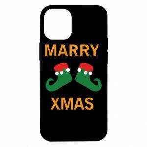 Etui na iPhone 12 Mini Marry xmas