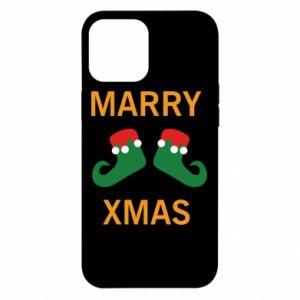 Etui na iPhone 12 Pro Max Marry xmas
