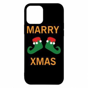Etui na iPhone 12/12 Pro Marry xmas