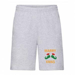 Szorty męskie Marry xmas