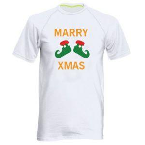 Koszulka sportowa męska Marry xmas