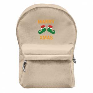 Plecak z przednią kieszenią Marry xmas