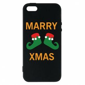 Etui na iPhone 5/5S/SE Marry xmas