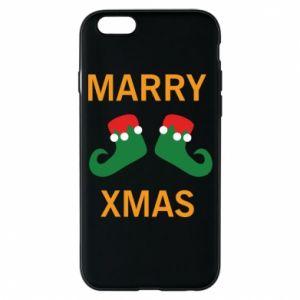 Etui na iPhone 6/6S Marry xmas