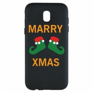 Etui na Samsung J5 2017 Marry xmas