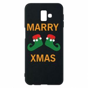 Etui na Samsung J6 Plus 2018 Marry xmas