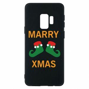 Etui na Samsung S9 Marry xmas