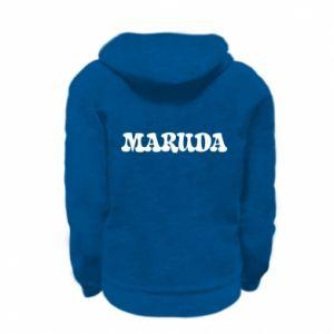 Bluza na zamek dziecięca Maruda