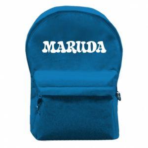Plecak z przednią kieszenią Maruda