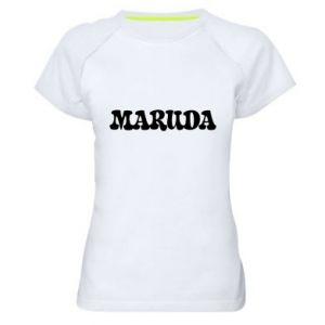 Koszulka sportowa damska Maruda