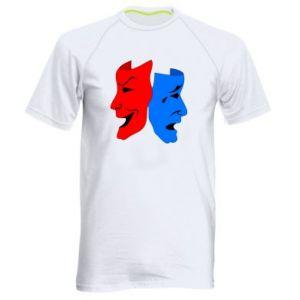 Koszulka sportowa męska Maski