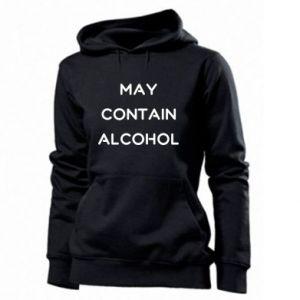 Damska bluza Napis: May contain alcohol