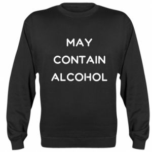Bluza (raglan) Napis: May contain alcohol