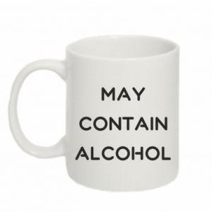 Kubek 330ml Napis: May contain alcohol