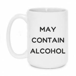 Kubek 450ml Napis: May contain alcohol