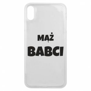 Phone case for iPhone Xs Max Grandmother's husband - PrintSalon