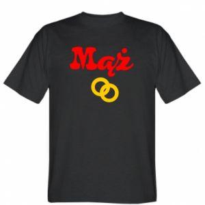 Koszulka męska Maż i obrączki