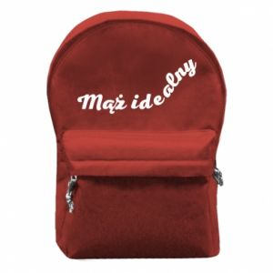 Backpack with front pocket The ideal husband