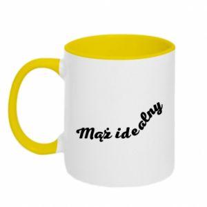 Two-toned mug The ideal husband