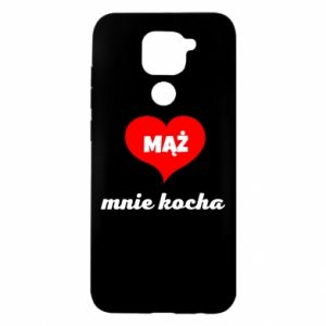 Etui na Xiaomi Redmi Note 9/Redmi 10X Mąż mnie kocha