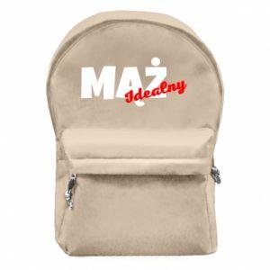 Plecak z przednią kieszenią Mąż. Idealny