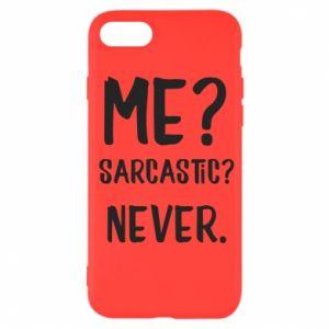 iPhone SE 2020 Case Me? Sarcastic? Never.