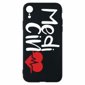 Phone case for iPhone XR Medicine