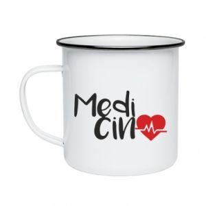 Kubek emaliowane Medycyna