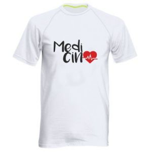 Męska koszulka sportowa Medycyna