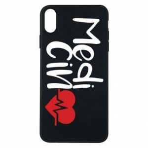Phone case for iPhone Xs Max Medicine