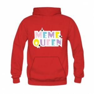 Bluza z kapturem dziecięca Meme queen