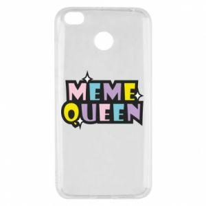 Etui na Xiaomi Redmi 4X Meme queen