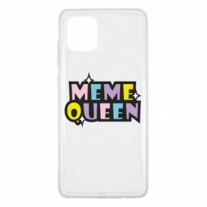 Etui na Samsung Note 10 Lite Meme queen