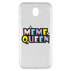 Etui na Samsung J7 2017 Meme queen