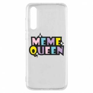 Etui na Huawei P20 Pro Meme queen