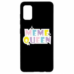 Etui na Samsung A41 Meme queen