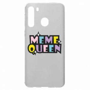 Etui na Samsung A21 Meme queen