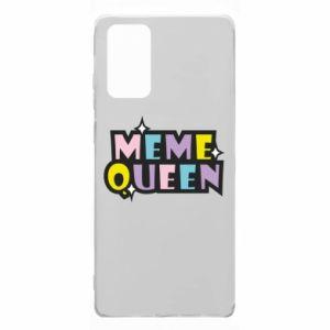 Etui na Samsung Note 20 Meme queen