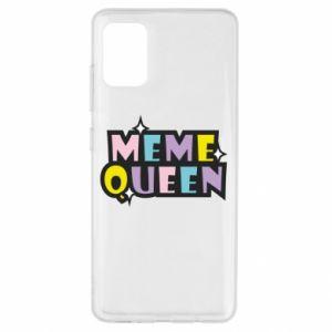 Etui na Samsung A51 Meme queen