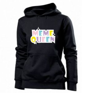 Women's hoodies Meme queen