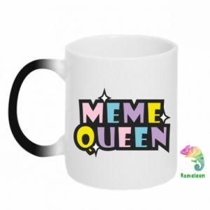 Kubek-magiczny Meme queen