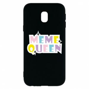 Phone case for Samsung J3 2017 Meme queen