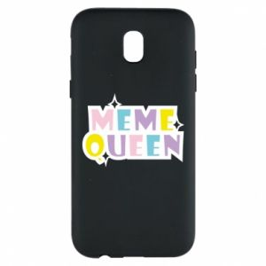 Phone case for Samsung J5 2017 Meme queen