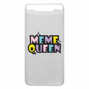 Phone case for Samsung A80 Meme queen