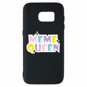 Etui na Samsung S7 Meme queen