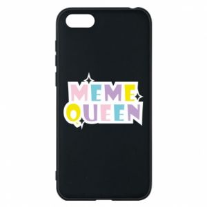 Phone case for Huawei Y5 2018 Meme queen