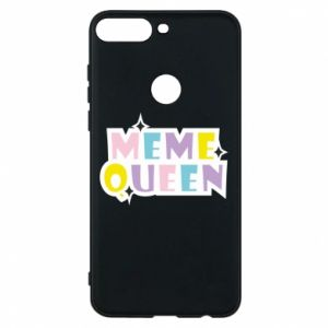 Phone case for Huawei Y7 Prime 2018 Meme queen